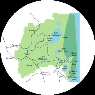 Noosa Biosphere Reserve Boundary