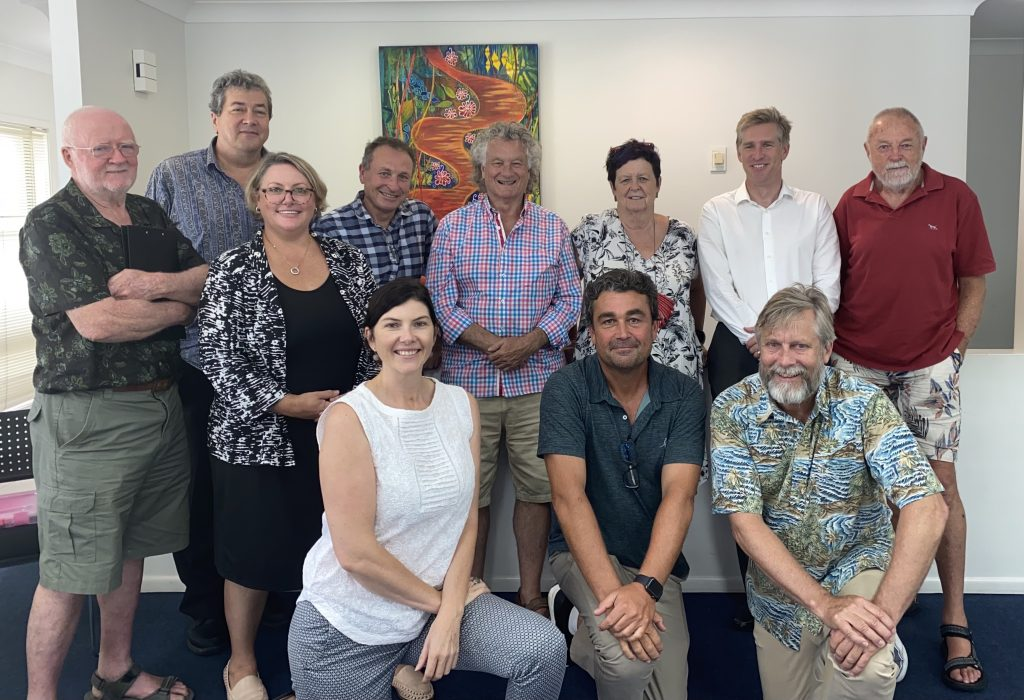 attendees at the Noosa Biosphere Reserve Foundation 2020 Annual General Meeting