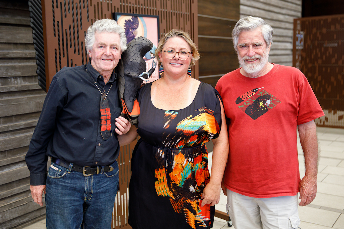 bob carey, sharon wright and eric anderson at the black and glossy gala Nov 2020